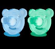 Chupeta Soothie 0-3m Verde/Azul (SCF194/01) - Avent
