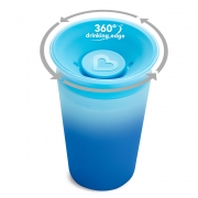 Copo Treinamento 360º Antivazamento Changing Color Azul - Munchkin