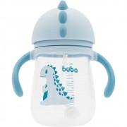 Copo com Canudo e Alça Dino Azul - Buba