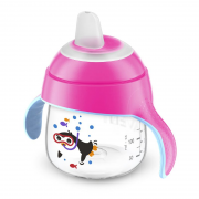Copo Pinguim 200ml Rosa (SCF751/07) - Philips Avent