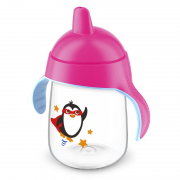 Copo Pinguim 340ml Rosa (SCF755/07) - Philips Avent