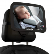 Espelho Retrovisor Back Seat Black - Safety 1st