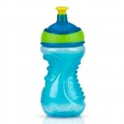 Garrafa Copo Squeeze 300ml 18m+ Azul - Nuby