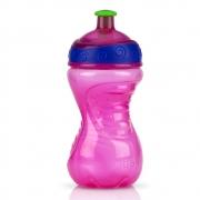 Garrafa Copo Squeeze 300ml 18m+ Rosa - Nuby