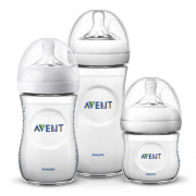 Kit Mamadeiras Pétala 125ml, 260ml e 330ml (SCD101/03) - Philips Avent