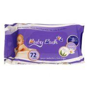 Lenços Umedecidos pct 72 unidades - Baby Bath
