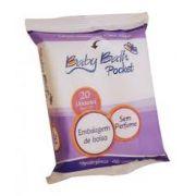 Lenços Umedecidos Pocket 20 un. - Baby Bath