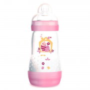 Mamadeira First Bottle 260ml Rosa - MAM