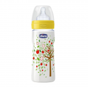 Mamadeira Fisiológica Well-Being 330ml 4m+ - Chicco