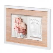 Porta Retrato com Massinha de Modelar Bebê Tiny Style Art Wooden - Baby Art