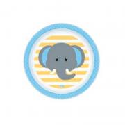Prato Infantil Elefante - Clingo