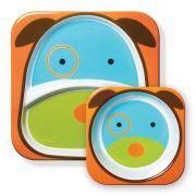 Set de Pratos Zoo - Cachorro - Skip Hop