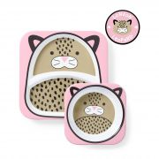 Set de Pratos Zoo - Leopardo - Skip Hop