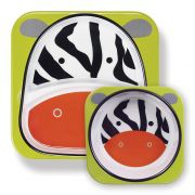 Set de Pratos Zoo - Zebra - Skip Hop