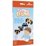 Termômetro Adesivo 4 unid Termofriends - Babydeas