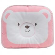 Travesseiro para Bebê Urso Rosa - Buba