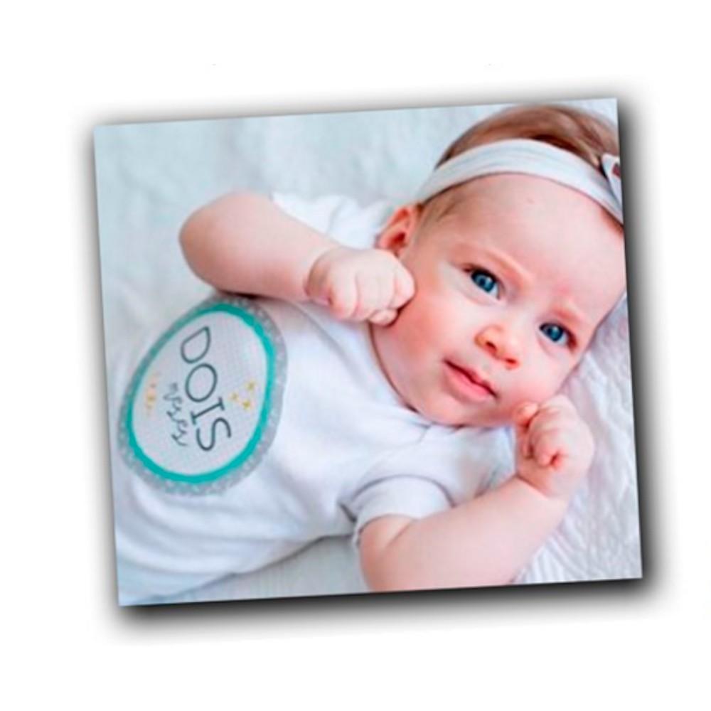Adesivos Mesversário do Bebê - Colorê