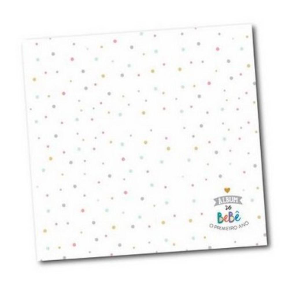 Album do Bebê Bolinhas - Colore