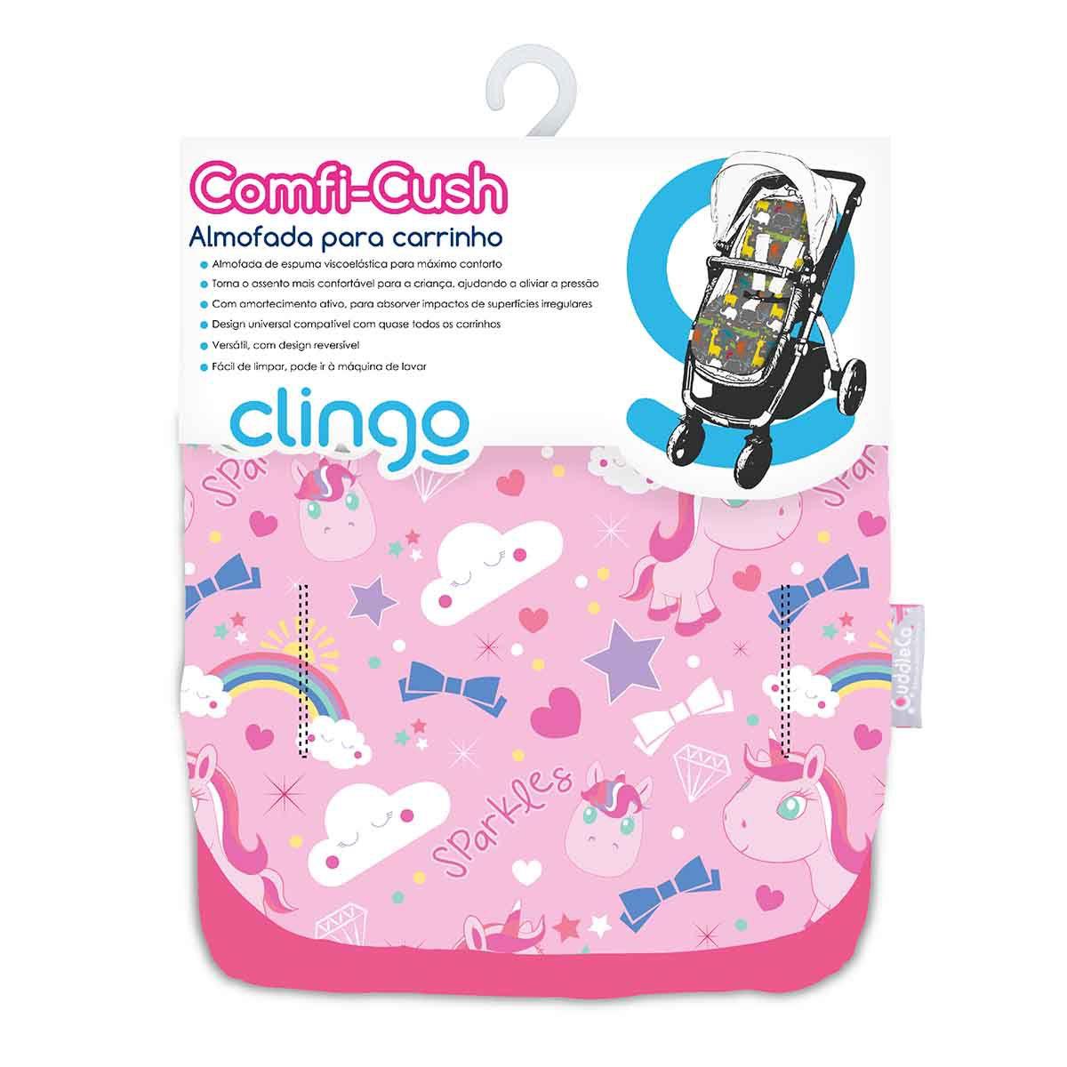 Almofada Carrinho Comfi Cush - Sparkles - Clingo