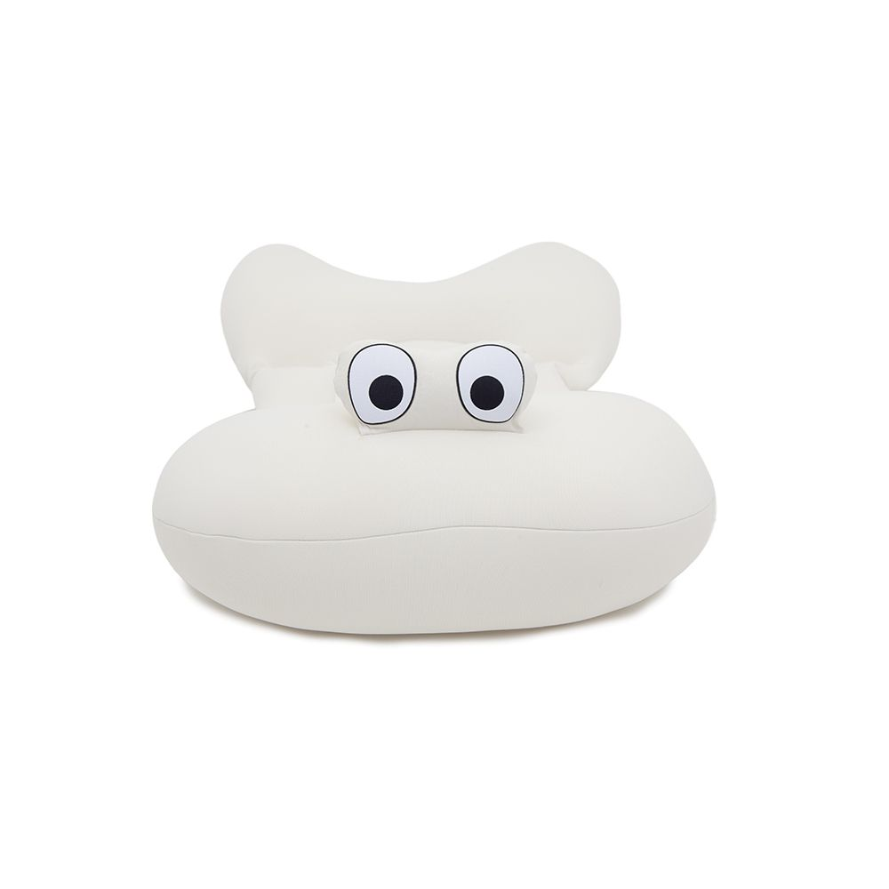 Almofada de Banho Bebê Creme - Baby Pil
