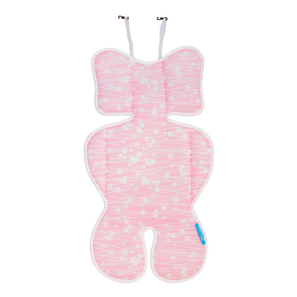 Almofada Redutora para Bebê Conforto Rosa - Clingo