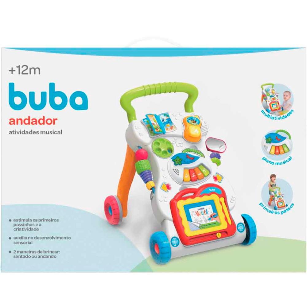 Andador Atividades Musical - Buba