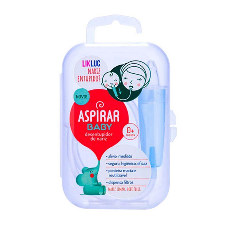 Aspirador Nasal para Bebê Aspirar Baby - LikLuc