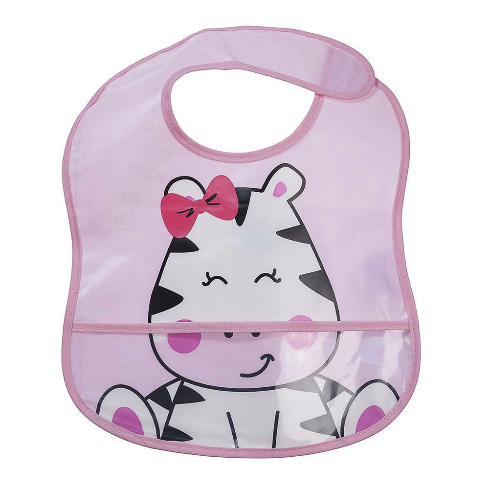 Babador Impermeável Zebra - Girotondo Baby