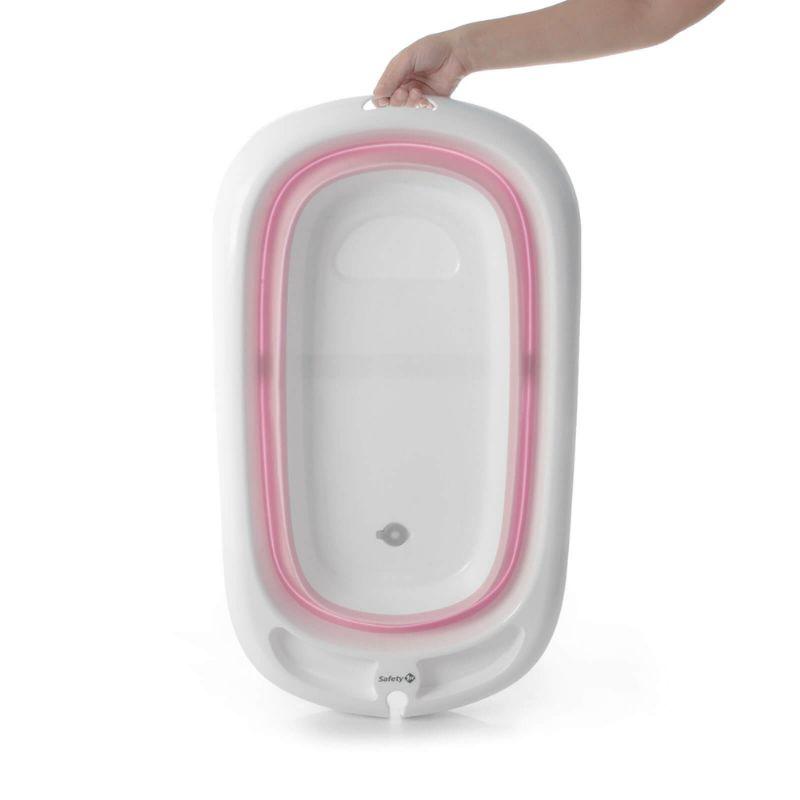 Banheira Dobrável Comfy & Safe Pink - Safety 1st