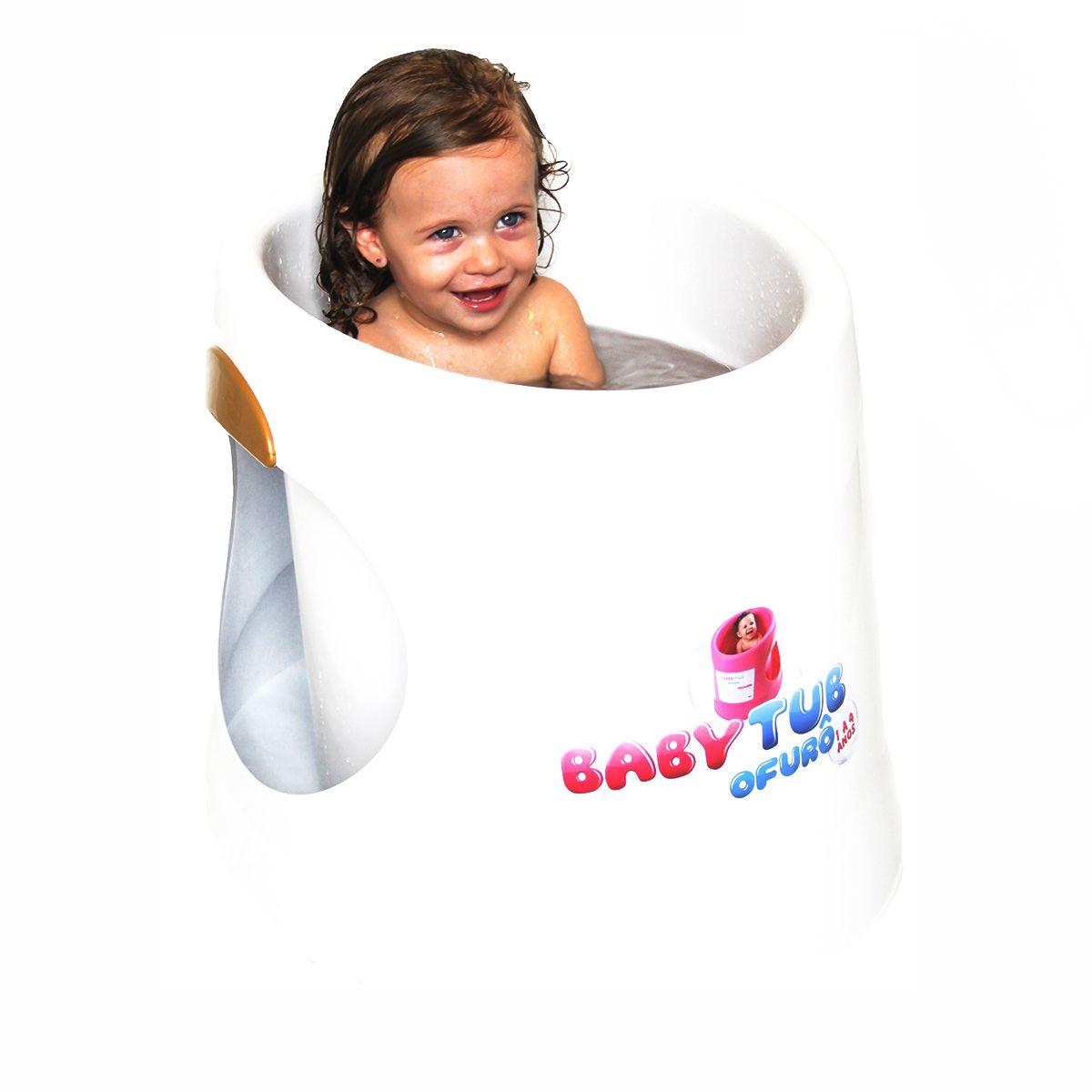 Banheira Ofurô Branca - Baby Tub