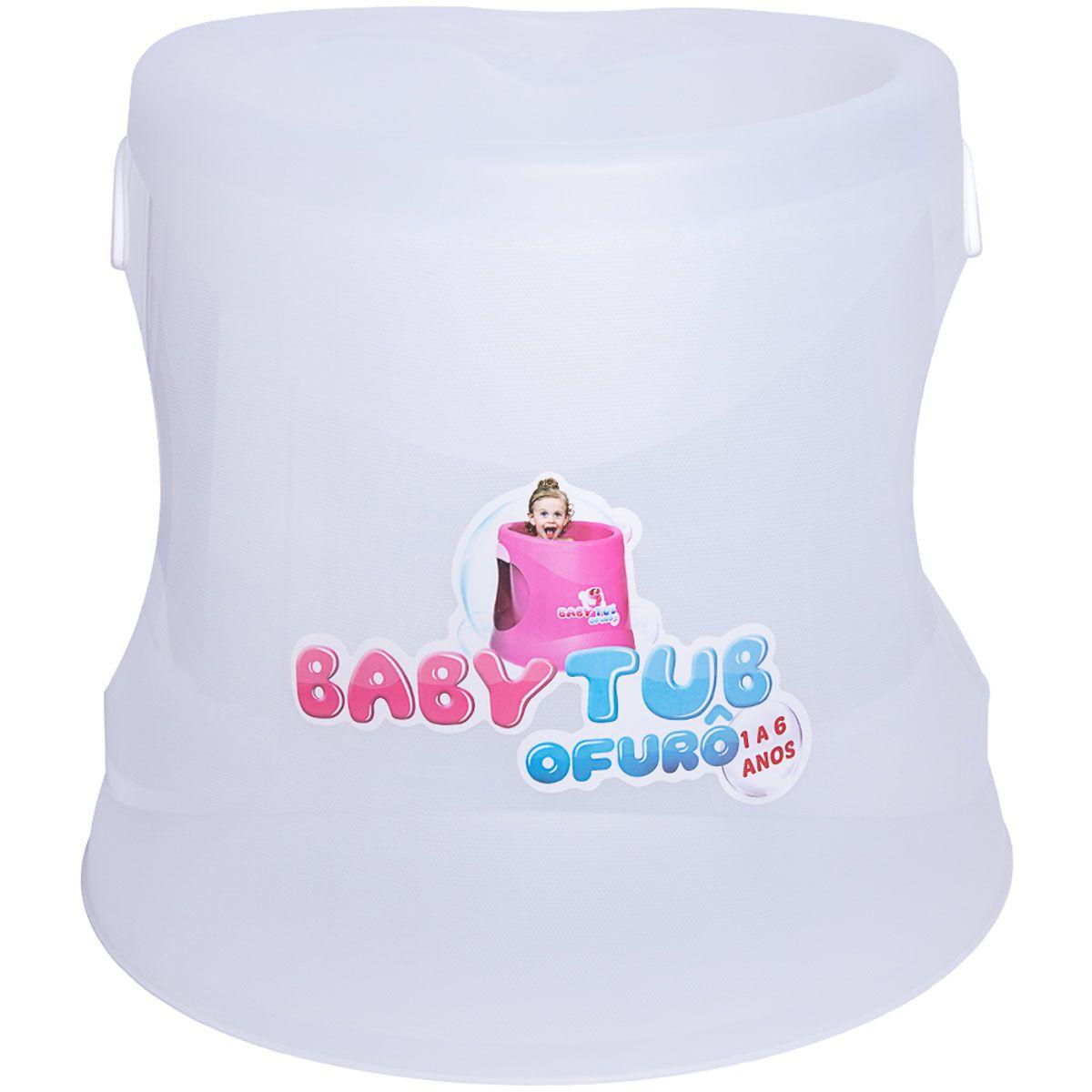 Banheira Ofurô Cristal Transparente - Baby Tub