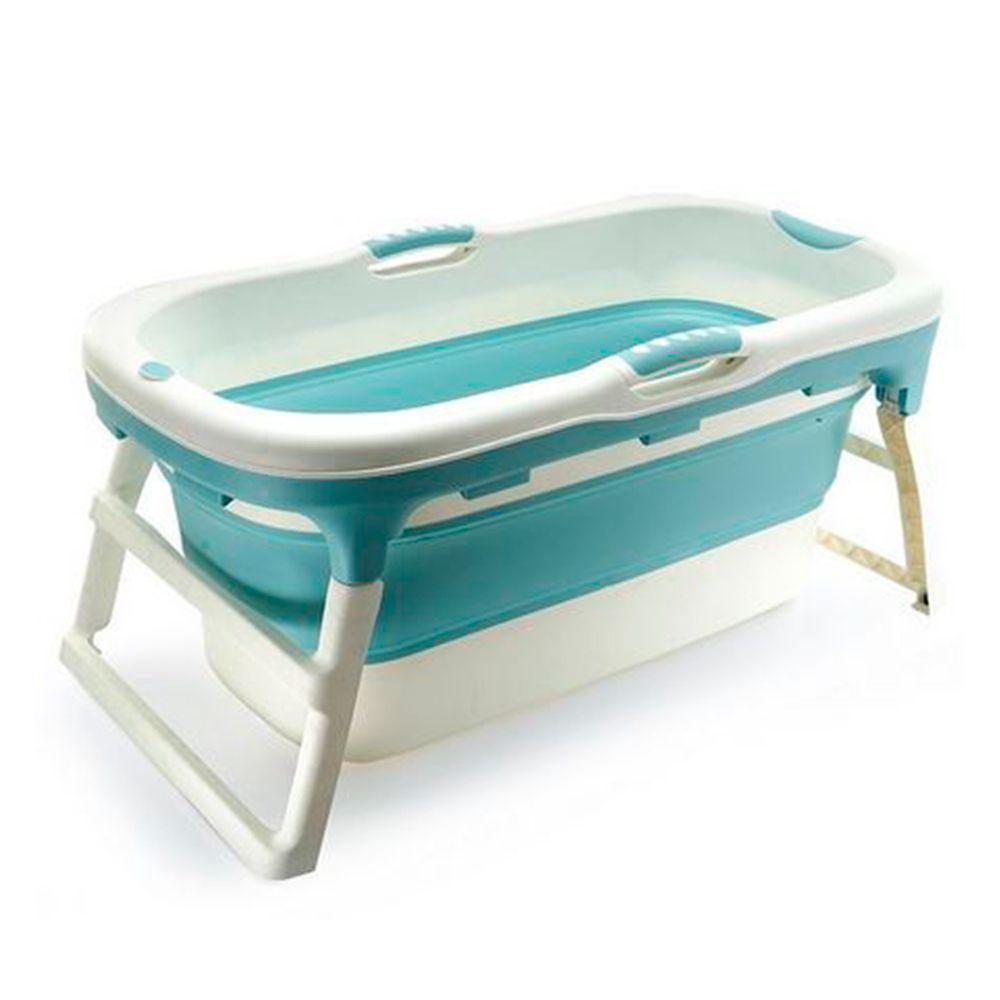 Banheira Retrátil Grande Azul - Baby Pil