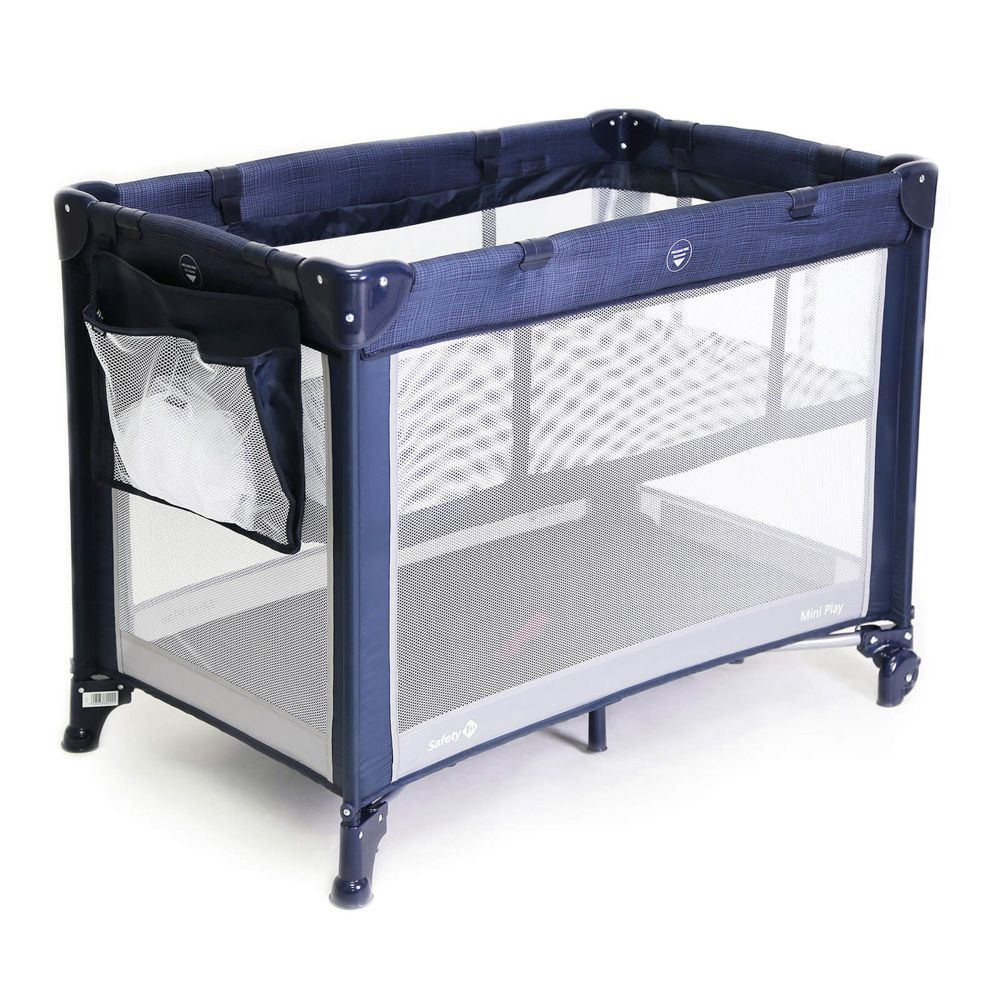 Berço Mini Play Net Blue - Safety 1st