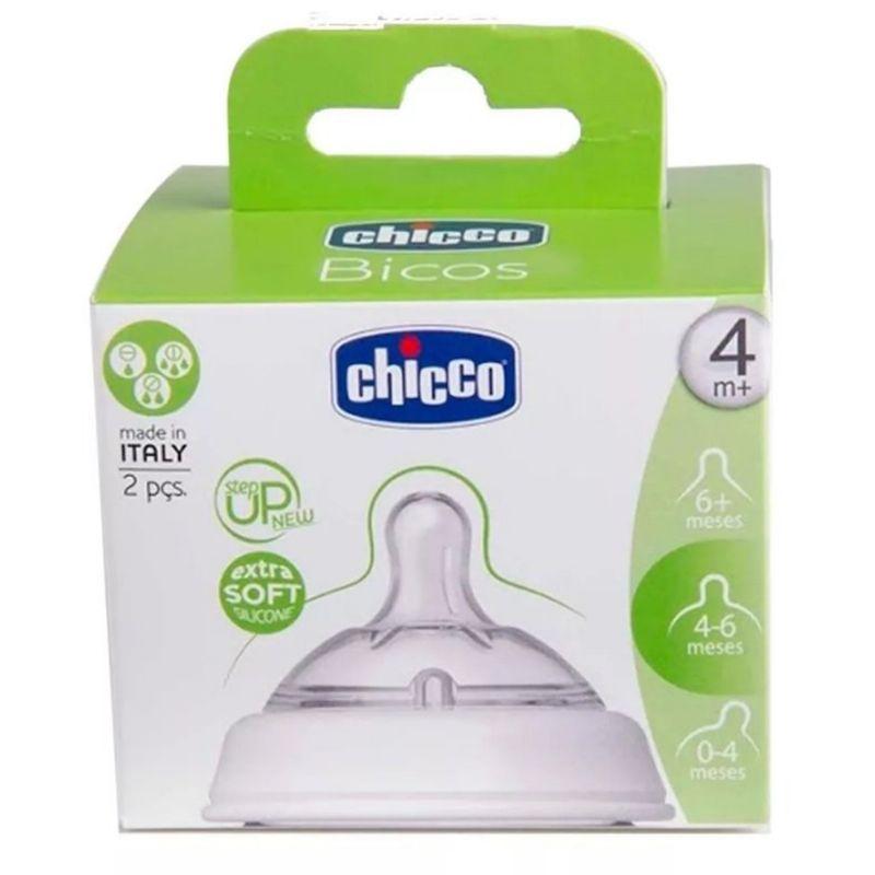 Bico New Step Up 4m+ Fluxo Ajustável 2 un. - Chicco