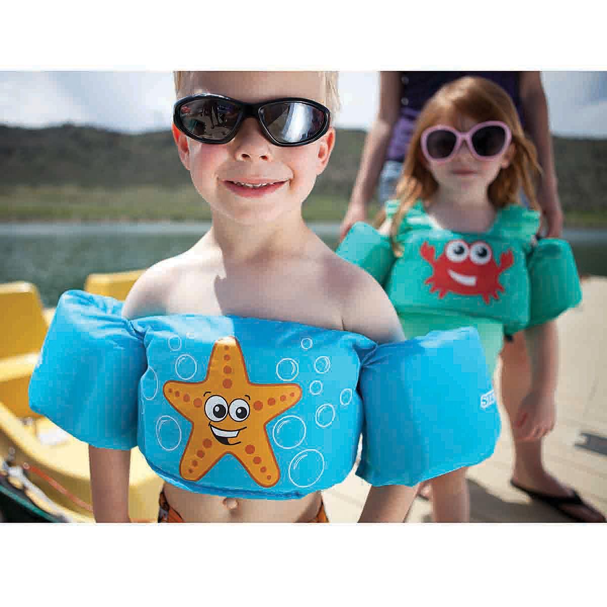 Boia Puddle Jumper Colete Infantil Azul - Coleman