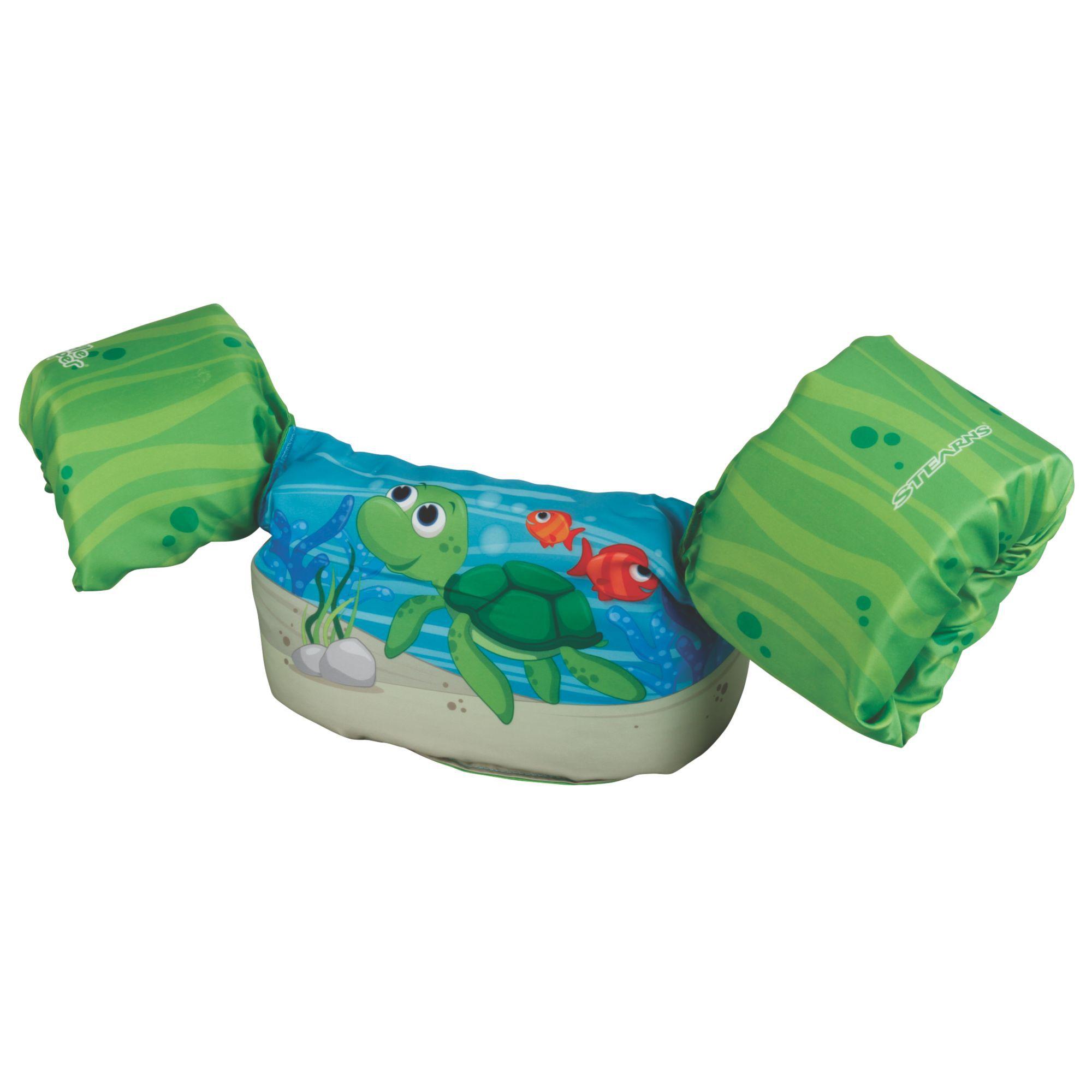 Boia Puddle Jumper Colete Infantil - Tartaruga Verde - Coleman