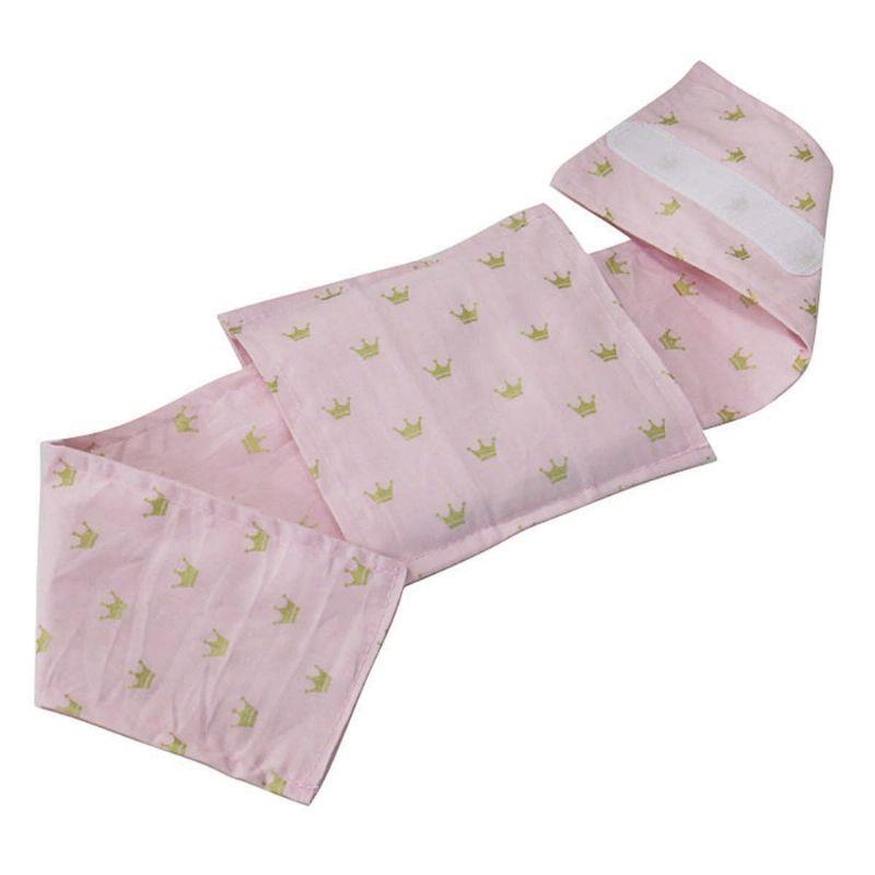 Bolsa Térmica Sementes c/cinta Coroa Rosa - Bebê sem Cólica