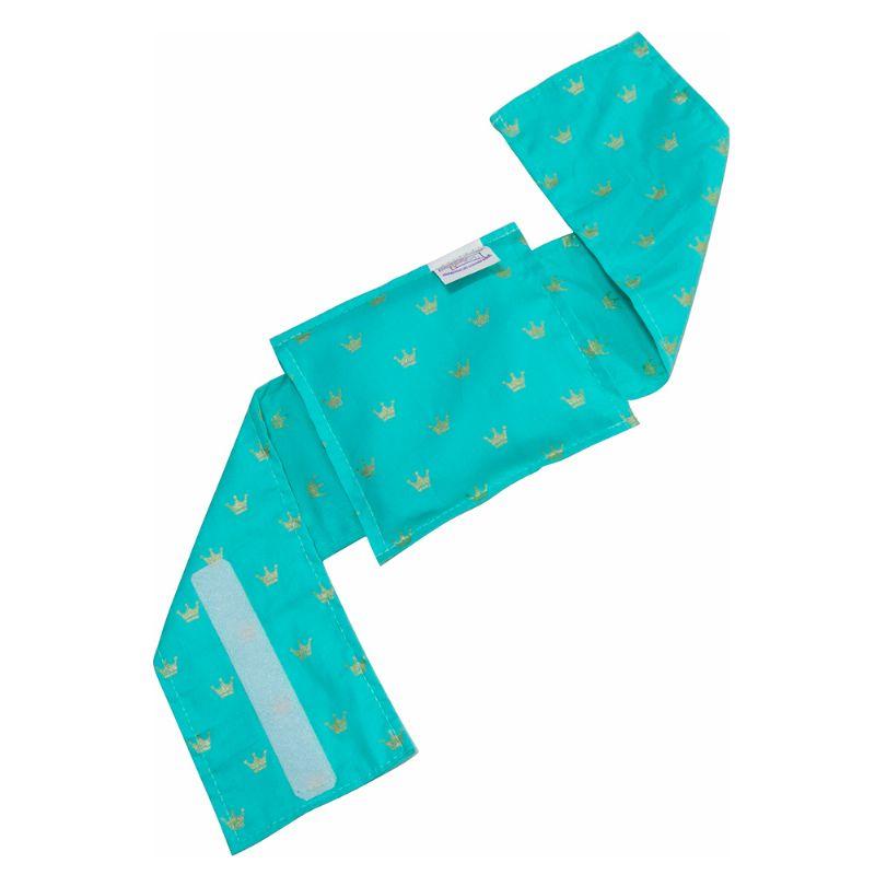 Bolsa Térmica Sementes c/cinta Coroa Verde - Bebê sem Cólica
