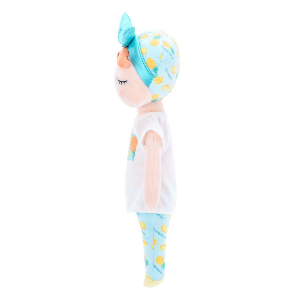 Boneca Angela Fruta Abacaxi 33cm - Metoo