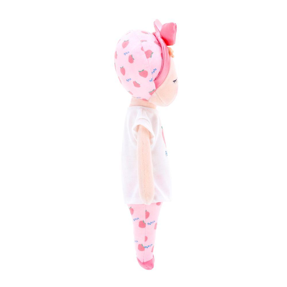 Boneca Angela Fruta Pêssego 33cm - Metoo