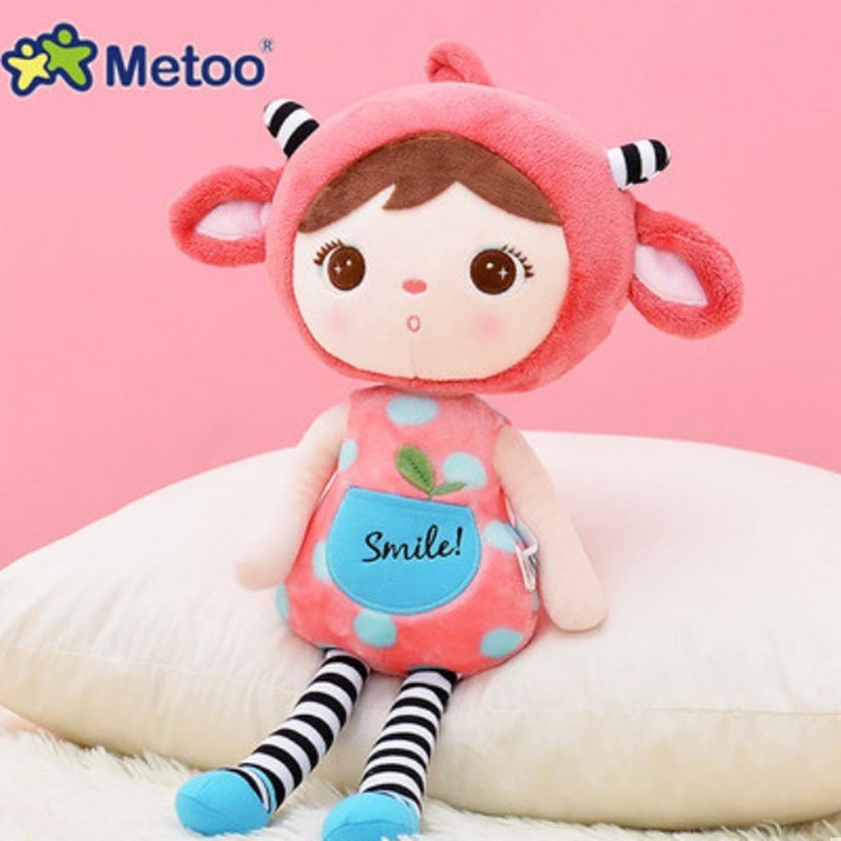 Boneca Jimbao Duende Sorriso Cereja 46cm - Metoo