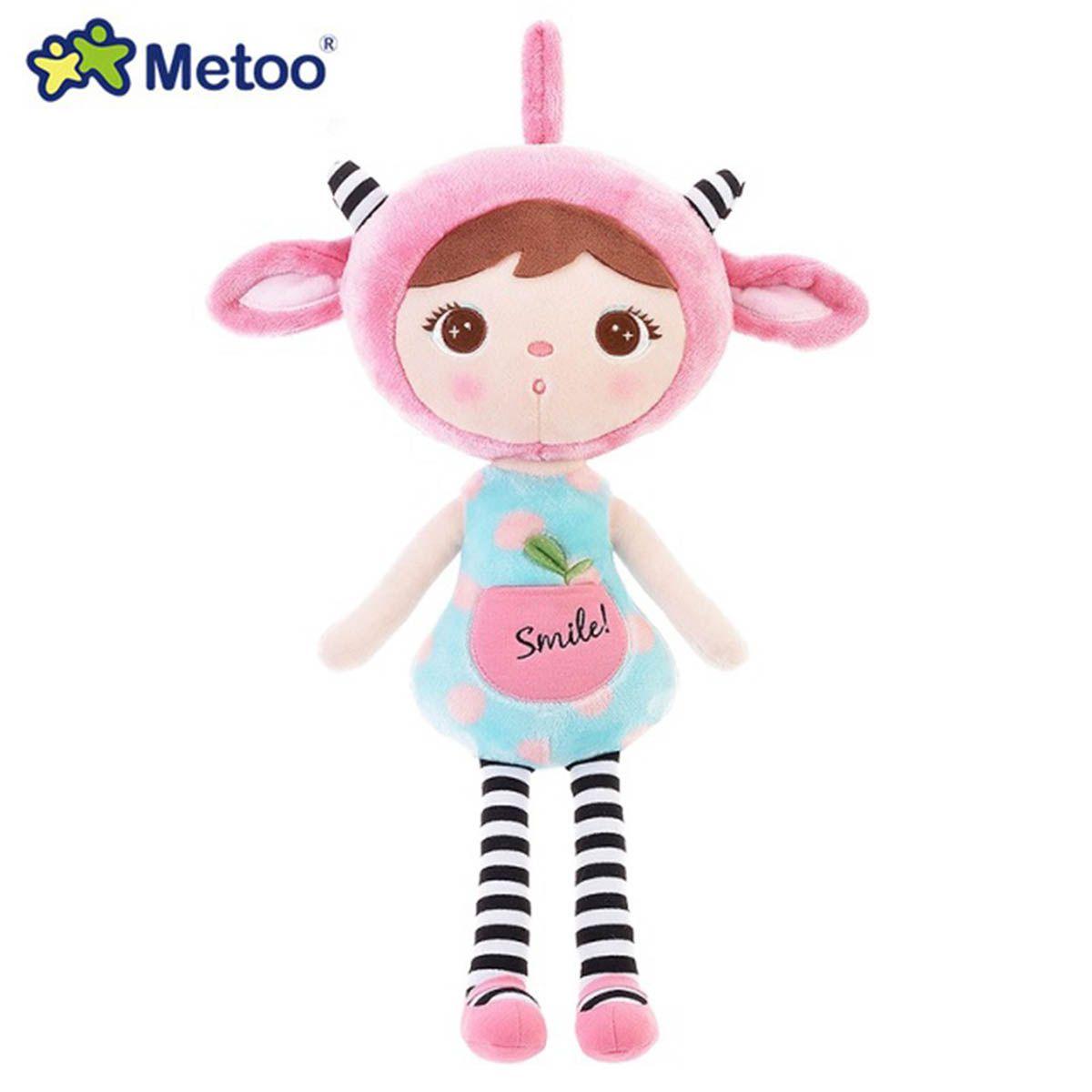 Boneca Jimbao Duende Sorriso Rosa 46cm - Metoo