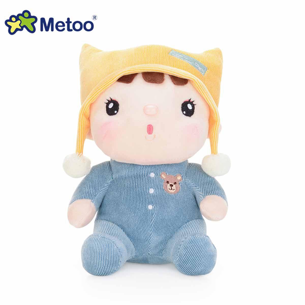 Boneco Sweet Candy Bebê Azul 22cm - Metoo