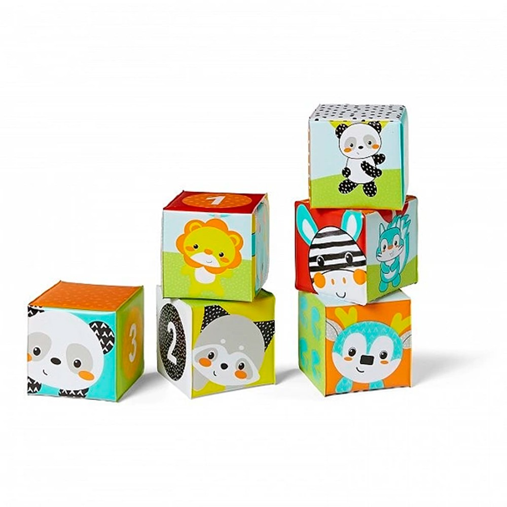 Brinquedo de Banho Blocos Coloridos - Infantino
