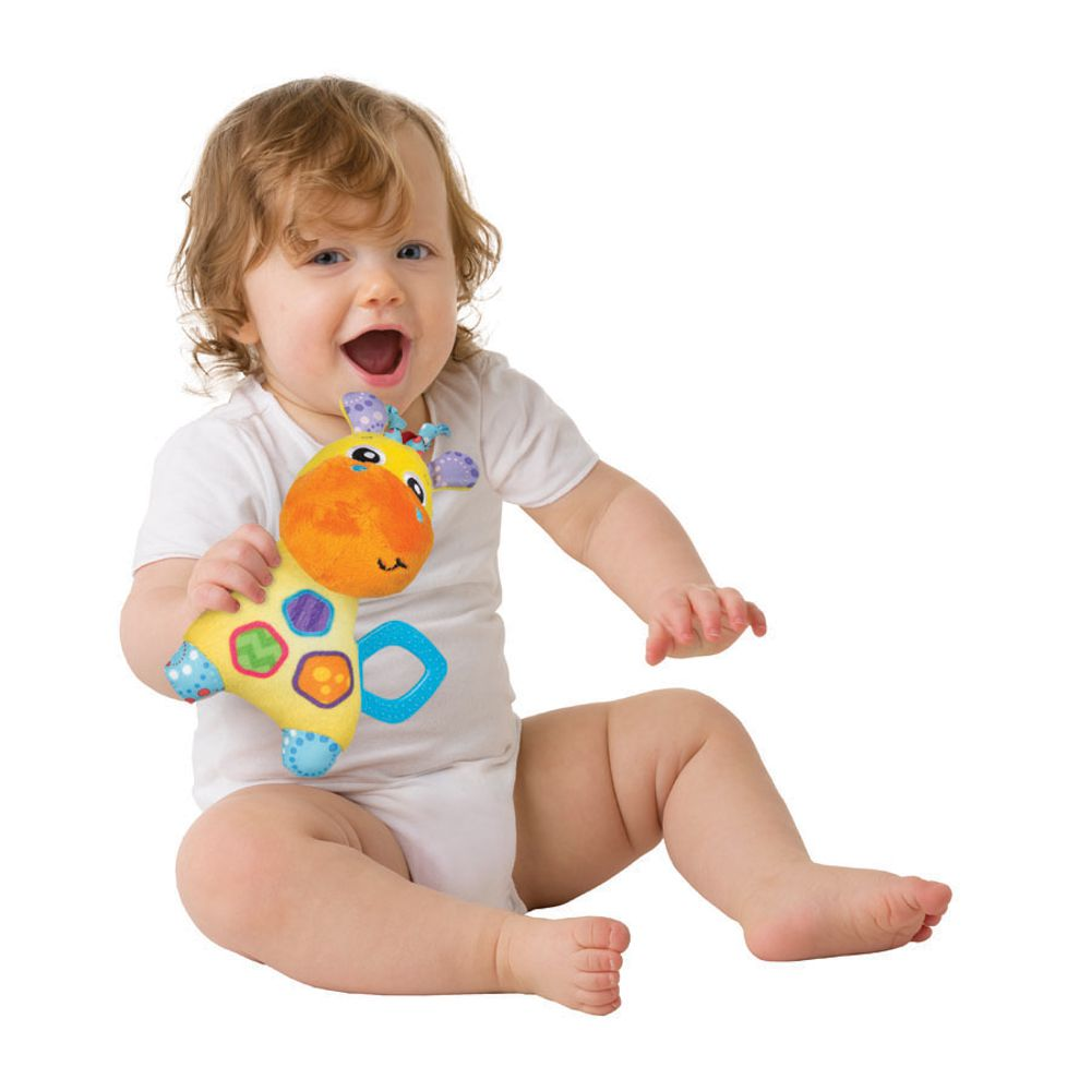 Brinquedo de Pelúcia Girafa Jerry - Playgro
