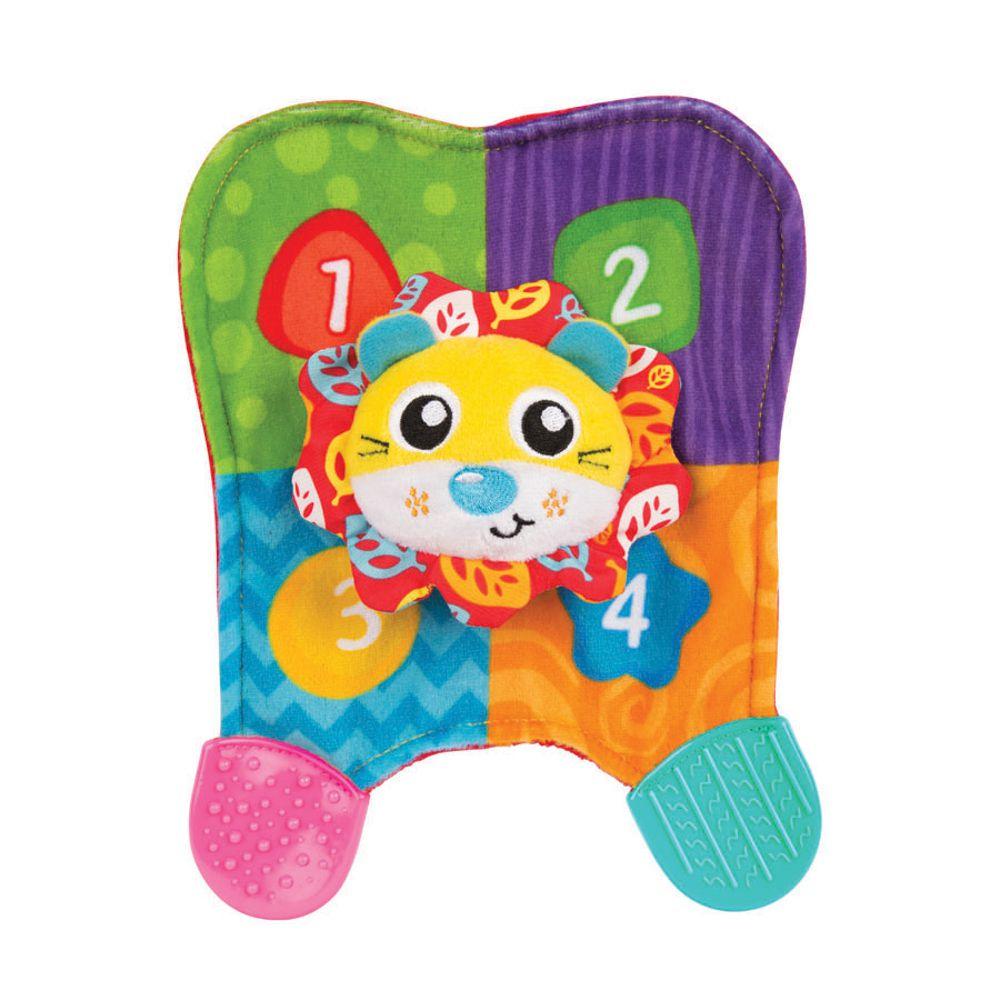 Brinquedo de Pelúcia Paninho Mordedor Leão - Playgro