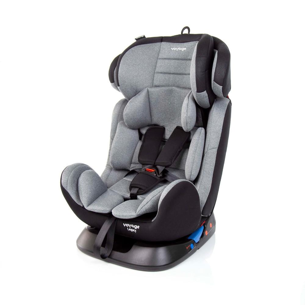 Cadeira Auto Legacy 0-36kg Cinza Mescla - Voyage