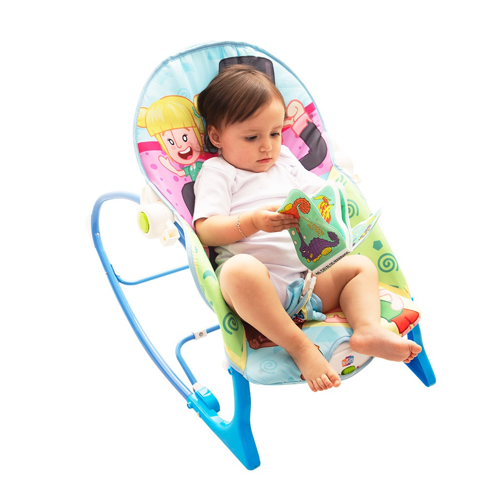 Cadeira de Balanço Infantil (0-18kg) - Mundo Bita