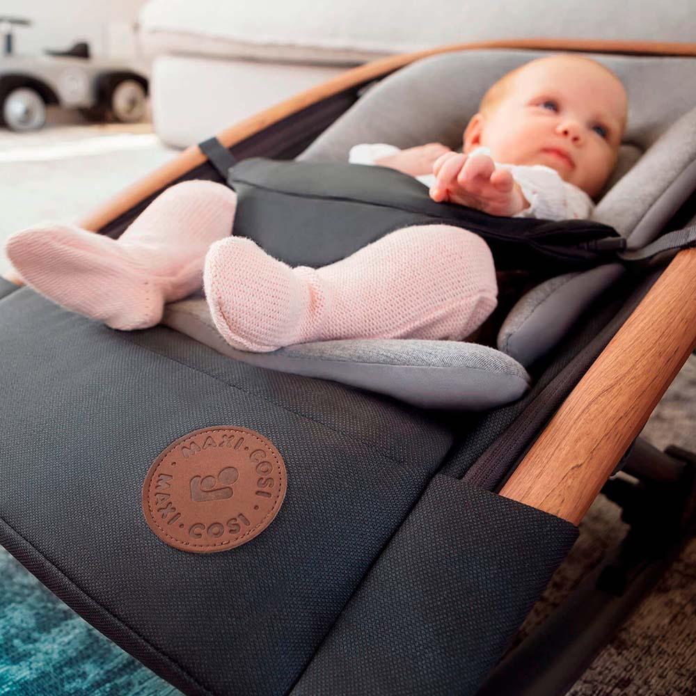 Cadeira Descanso Bouncer Kori Essential Graphite Linha Casa - Maxi Cosi