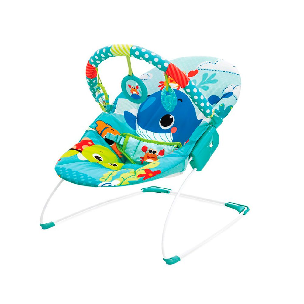 Cadeira Musical e Vibratória Azul Mar - Mastela